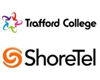 Trafford College/ShoreTel Case Study logo