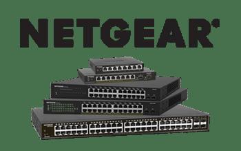 Netgear Switch and logo