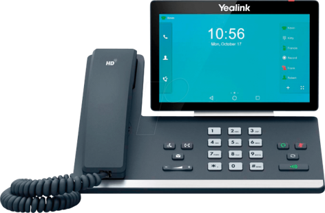 Yealink T58A Touch screen