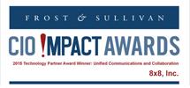 CIO Impact Awards, Frost & Sullivan Badge