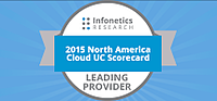 2015 North America Cloud UC, Leading Provider Bage