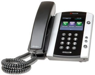 8x8 Polycomm Business Phone Handset