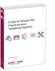 Cover, 3 Tips to Thwart Toll Fraud on your Telephone System